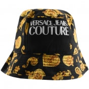 Product Image for Versace Jeans Couture Logo Bucket Hat Black