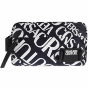 Product Image for Versace Jeans Couture Logo Washbag Blue