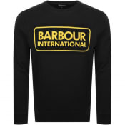 Product Image for Barbour International Crew Neck Sweatshirt Black