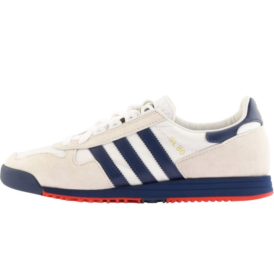Adidas Originals ADIDAS ORIGINALS SL 80 TRAINERS WHITE