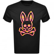 Product Image for Psycho Bunny Patcham Logo T Shirt Black