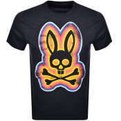 Product Image for Psycho Bunny Arlington Logo T Shirt Navy