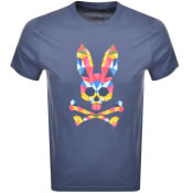 Product Image for Psycho Bunny Kidd Logo T Shirt Navy