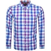 Product Image for Pretty Green Galaxy Long Sleeved Shirt Purple