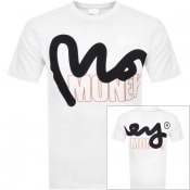 Product Image for Money Crew Neck Logo T Shirt White