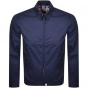 Product Image for Pretty Green Zip Up Harrington Jacket Navy