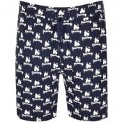 Product Image for Money Logo Sweat Shorts Navy