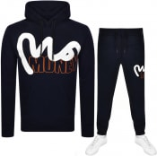 Product Image for Money Hooded Logo Tracksuit Navy