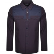 Product Image for Barbour Seaford Overshirt Jacket Navy