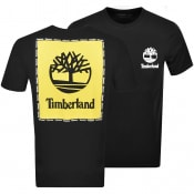 Product Image for Timberland Box Logo T Shirt Black