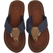 Product Image for Barbour Toeman Flip Flops Navy