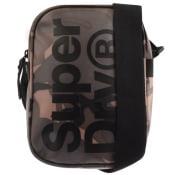 Product Image for Superdry Logo Camouflage Shoulder Bag Khaki