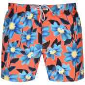 Product Image for Ted Baker Croso All Over Print Swim Shorts Orange