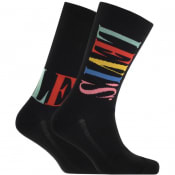 Product Image for Levis Tall Logo 2 Pack Socks Black