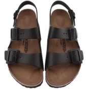 Product Image for Birkenstock Milano Leather Sandals Black