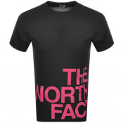 Product Image for The North Face Logo Flow 1 T Shirt Black
