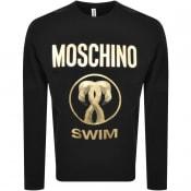 Product Image for Moschino Swim Logo Sweatshirt Black