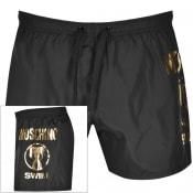Product Image for Moschino Logo Swim Shorts Black