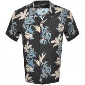 Product Image for Carhartt Hawaiian Floral Short Sleeve Shirt Black