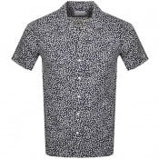 Product Image for Les Deux Jacque Short Sleeved Shirt Navy
