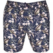 Product Image for Les Deux Latif Swim Shorts Navy
