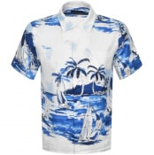 Product Image for Ralph Lauren Linen Short Sleeved Shirt White