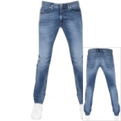 Product Image for Diesel Thommer 0853 Slim Fit Jeans Blue
