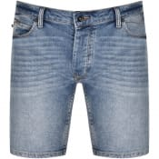 Product Image for Luke 1977 Nimed Denim Shorts Blue