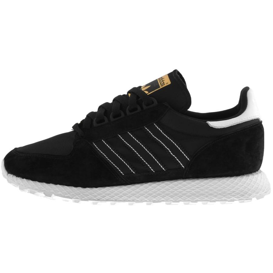 Tienda Emperador cuerno  adidas Originals Forest Grove Trainers Black   Mainline Menswear Sweden
