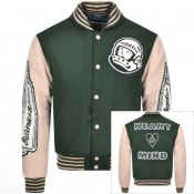 Product Image for Billionaire Boys Club Astro Varsity Jacket Green