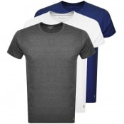 Product Image for Lyle And Scott Three Pack Lounge T Shirts White