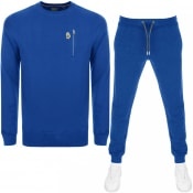 Product Image for Luke 1977  Paris And Rome Tracksuit Blue