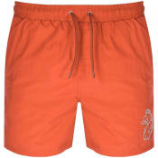Product Image for Luke 1977 Fuse Swim Shorts Orange