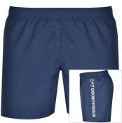 Product Image for EA7 Emporio Armani Logo Swim Shorts Navy
