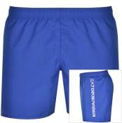 Product Image for EA7 Emporio Armani Logo Swim Shorts Blue
