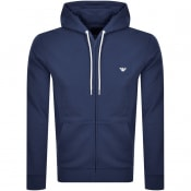 Product Image for Emporio Armani Full Zip Hoodie Navy