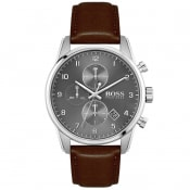 Product Image for BOSS HUGO BOSS 1513787 Skymaster Watch Brown