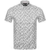 Product Image for Ted Baker Krosa Short Sleeved Shirt Navy