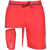 Product Image for Tommy Hilfiger Loungewear Logo Shorts Red