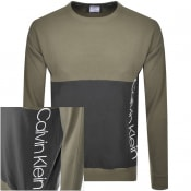 Product Image for Calvin Klein Logo Sweatshirt Green