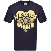 Product Image for Billionaire Boys Club Heart And Mind T Shirt Navy