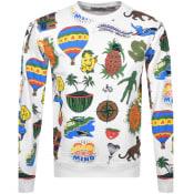 Product Image for Billionaire Boys Club Print Sweatshirt White
