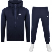 Product Image for Nike Standard Fit Logo Tracksuit Navy