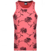 Product Image for Superdry Supply Logo Vest T Shirt Pink
