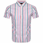 Product Image for Superdry Oxford Short Sleeved Shirt White