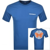 Product Image for Converse Butterfly Logo T Shirt Blue