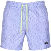 Product Image for Nike Festival Logo Swim Shorts Purple