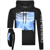Product Image for Calvin Klein Jeans Wave Photo Hoodie Black