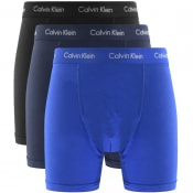 Product Image for Calvin Klein Underwear 3 Pack Boxer Trunks Blue