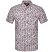 Product Image for Pretty Green Ava Short Sleeve Shirt Pink